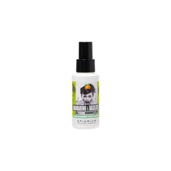 deodorante senza allluminio mandarino e basilico