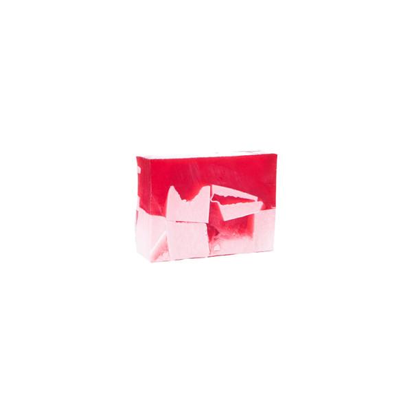 strawberry handmade soap